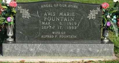 FOUNTAIN, AVIS MARIE - Pope County, Arkansas | AVIS MARIE FOUNTAIN - Arkansas Gravestone Photos