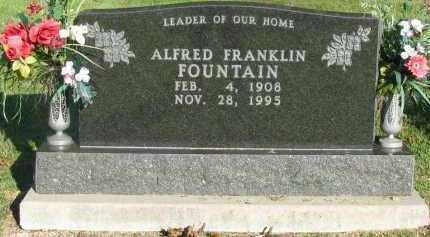 FOUNTAIN, ALFRED FRANKLIN - Pope County, Arkansas | ALFRED FRANKLIN FOUNTAIN - Arkansas Gravestone Photos