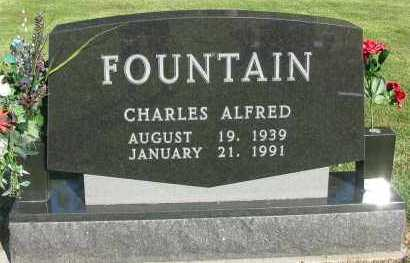 FOUNTAIN, CHARLES ALFRED - Pope County, Arkansas | CHARLES ALFRED FOUNTAIN - Arkansas Gravestone Photos