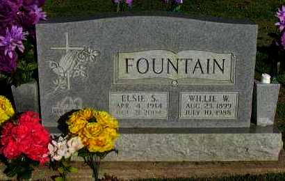 FOUNTAIN, WILLIE W - Pope County, Arkansas | WILLIE W FOUNTAIN - Arkansas Gravestone Photos