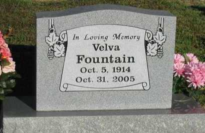 FOUNTAIN, VELVA - Pope County, Arkansas | VELVA FOUNTAIN - Arkansas Gravestone Photos