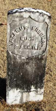 FREEMAN  (VETERAN UNION), LAZARUS - Pope County, Arkansas | LAZARUS FREEMAN  (VETERAN UNION) - Arkansas Gravestone Photos