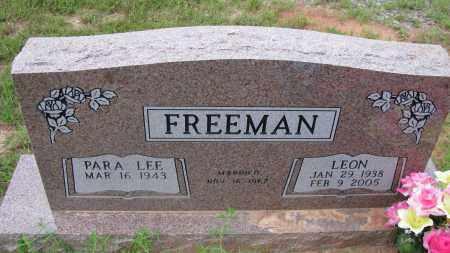 FREEMAN, LEON - Pope County, Arkansas | LEON FREEMAN - Arkansas Gravestone Photos