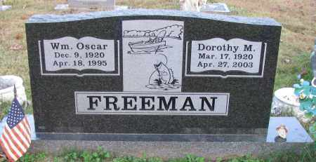 FREEMAN, DOROTHY M - Pope County, Arkansas | DOROTHY M FREEMAN - Arkansas Gravestone Photos
