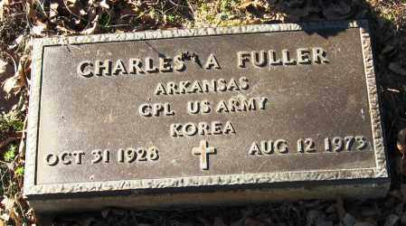 FULLER  (VETERAN KOR), CHARLES A - Pope County, Arkansas | CHARLES A FULLER  (VETERAN KOR) - Arkansas Gravestone Photos