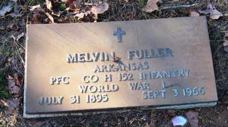 FULLER  (VETERAN WWI), MELVIN - Pope County, Arkansas | MELVIN FULLER  (VETERAN WWI) - Arkansas Gravestone Photos