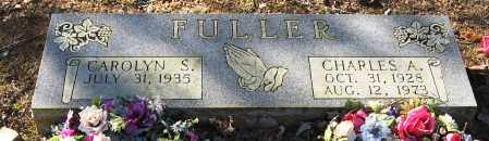 FULLER, CHARLES A - Pope County, Arkansas | CHARLES A FULLER - Arkansas Gravestone Photos