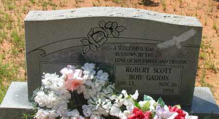 "GADDIS, ROBERT SCOTT  ""BOB"" - Pope County, Arkansas | ROBERT SCOTT  ""BOB"" GADDIS - Arkansas Gravestone Photos"