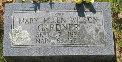 WILSON GARDNER, MARY ELLEN - Pope County, Arkansas | MARY ELLEN WILSON GARDNER - Arkansas Gravestone Photos