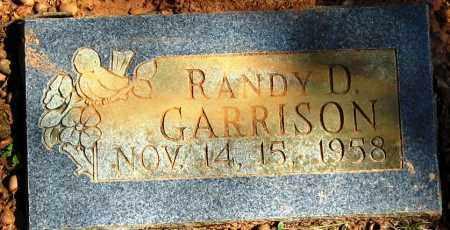 GARRISON, RANDY D - Pope County, Arkansas | RANDY D GARRISON - Arkansas Gravestone Photos