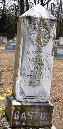 GASTON, MARY E - Pope County, Arkansas | MARY E GASTON - Arkansas Gravestone Photos
