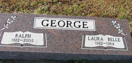 GEORGE, LAURA BELLE - Pope County, Arkansas | LAURA BELLE GEORGE - Arkansas Gravestone Photos