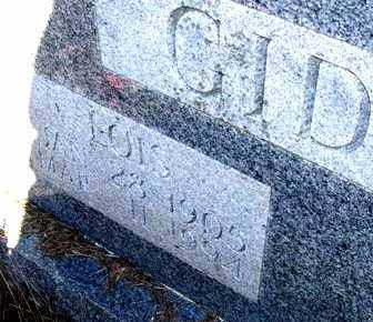 GIDEON, LOIS (CLOSEUP) - Pope County, Arkansas   LOIS (CLOSEUP) GIDEON - Arkansas Gravestone Photos
