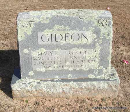 GIDEON, MARY E. - Pope County, Arkansas | MARY E. GIDEON - Arkansas Gravestone Photos