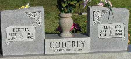 GODFREY, FLETCHER - Pope County, Arkansas | FLETCHER GODFREY - Arkansas Gravestone Photos