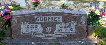 GODFREY, WILLIAM EDDINGTON - Pope County, Arkansas | WILLIAM EDDINGTON GODFREY - Arkansas Gravestone Photos