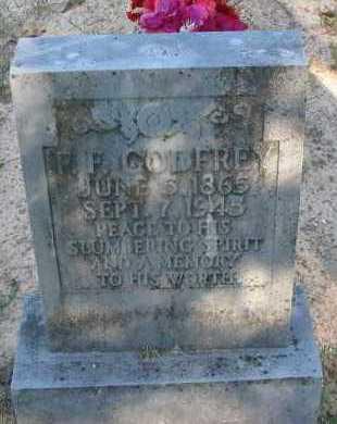GODFREY, F F (FELIX) - Pope County, Arkansas | F F (FELIX) GODFREY - Arkansas Gravestone Photos