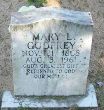 GODFREY, MARY L - Pope County, Arkansas | MARY L GODFREY - Arkansas Gravestone Photos