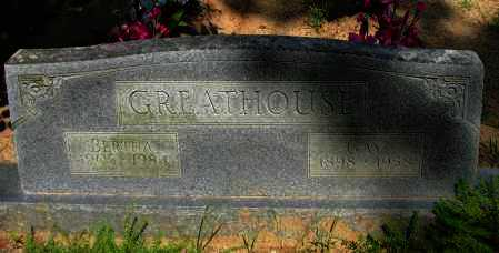 GREATHOUSE, BERTHA - Pope County, Arkansas | BERTHA GREATHOUSE - Arkansas Gravestone Photos