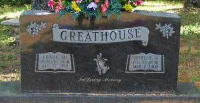 GREATHOUSE, FRANK M - Pope County, Arkansas | FRANK M GREATHOUSE - Arkansas Gravestone Photos