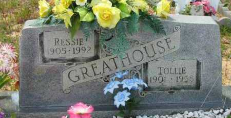GREATHOUSE, TOLLIE - Pope County, Arkansas | TOLLIE GREATHOUSE - Arkansas Gravestone Photos
