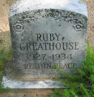 GREATHOUSE, RUBY - Pope County, Arkansas | RUBY GREATHOUSE - Arkansas Gravestone Photos