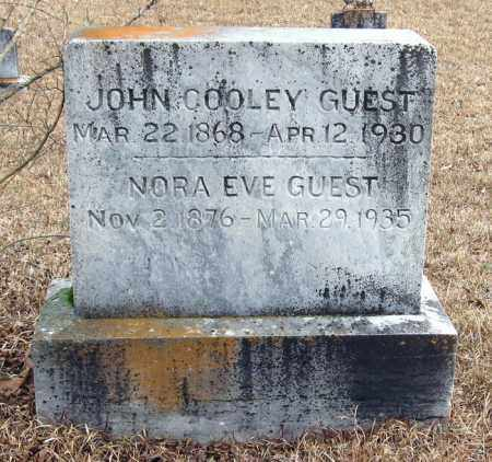 GUEST, JOHN COOLEY - Pope County, Arkansas | JOHN COOLEY GUEST - Arkansas Gravestone Photos