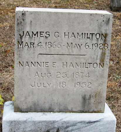 HAMILTON, NANNIE E - Pope County, Arkansas | NANNIE E HAMILTON - Arkansas Gravestone Photos