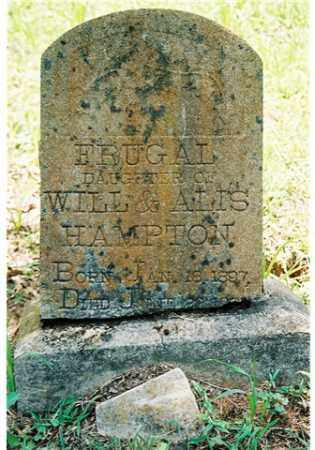HAMPTON, FRUGAL - Pope County, Arkansas | FRUGAL HAMPTON - Arkansas Gravestone Photos