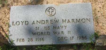HARMON (VETERAN WWII), LOYD ANDREW - Pope County, Arkansas | LOYD ANDREW HARMON (VETERAN WWII) - Arkansas Gravestone Photos