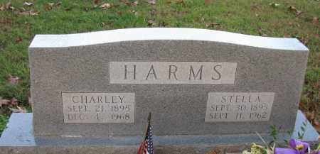 HARMS, CHARLEY - Pope County, Arkansas | CHARLEY HARMS - Arkansas Gravestone Photos
