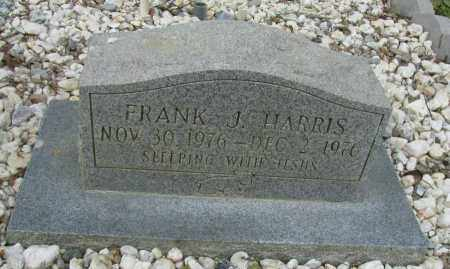 HARRIS, FRANK J - Pope County, Arkansas | FRANK J HARRIS - Arkansas Gravestone Photos