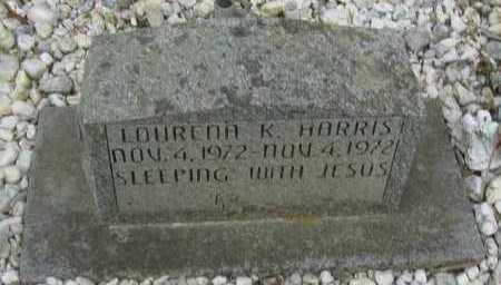 HARRIS, LOURENA K - Pope County, Arkansas | LOURENA K HARRIS - Arkansas Gravestone Photos