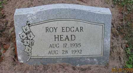 HEAD, ROY EDGAR - Pope County, Arkansas | ROY EDGAR HEAD - Arkansas Gravestone Photos