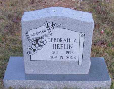 HEFLIN, DEBORAH A - Pope County, Arkansas | DEBORAH A HEFLIN - Arkansas Gravestone Photos