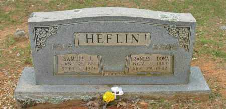 HEFLIN, FRANCES DONA - Pope County, Arkansas | FRANCES DONA HEFLIN - Arkansas Gravestone Photos