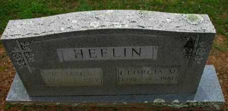 HEFLIN, W MACK - Pope County, Arkansas | W MACK HEFLIN - Arkansas Gravestone Photos