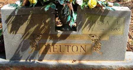 HELTON, FLOYD R - Pope County, Arkansas | FLOYD R HELTON - Arkansas Gravestone Photos