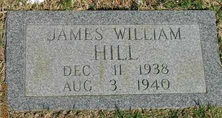 HILL, JAMES WILLIAM - Pope County, Arkansas | JAMES WILLIAM HILL - Arkansas Gravestone Photos