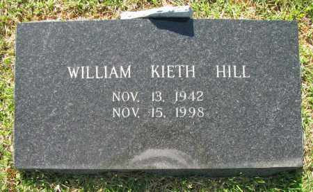 HILL, WILLIAM KIETH - Pope County, Arkansas | WILLIAM KIETH HILL - Arkansas Gravestone Photos