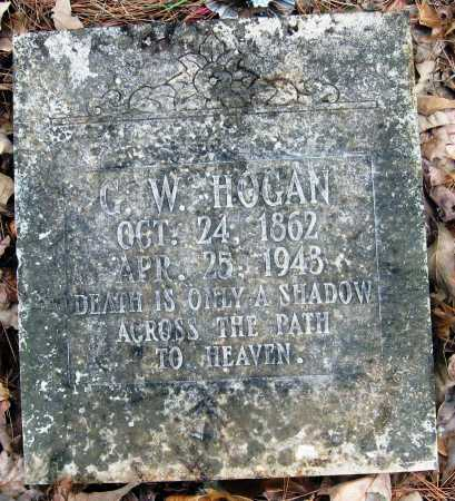 HOGAN, GEORGE WASHINGTON - Pope County, Arkansas | GEORGE WASHINGTON HOGAN - Arkansas Gravestone Photos