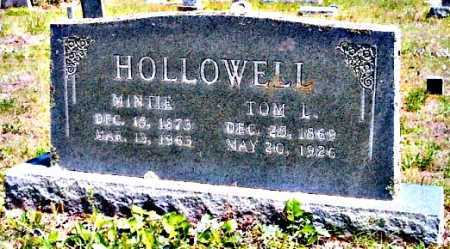HOLLOWELL, THOMAS LEE - Pope County, Arkansas | THOMAS LEE HOLLOWELL - Arkansas Gravestone Photos