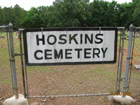 *HOSKINS CEMETERY GATE,  - Pope County, Arkansas |  *HOSKINS CEMETERY GATE - Arkansas Gravestone Photos