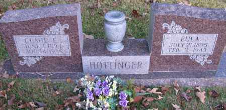 HOTTINGER, CLAUD E - Pope County, Arkansas | CLAUD E HOTTINGER - Arkansas Gravestone Photos