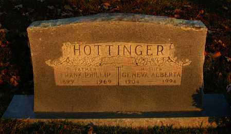 HOTTINGER, GENEVA ALBERTA - Pope County, Arkansas | GENEVA ALBERTA HOTTINGER - Arkansas Gravestone Photos