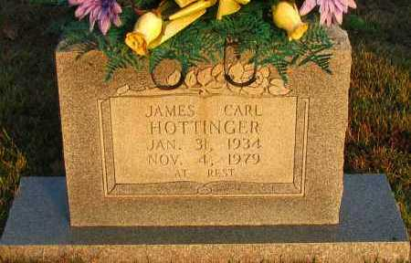 HOTTINGER, JAMES CARL - Pope County, Arkansas | JAMES CARL HOTTINGER - Arkansas Gravestone Photos