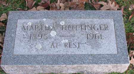 HOTTINGER, MARTHA - Pope County, Arkansas | MARTHA HOTTINGER - Arkansas Gravestone Photos