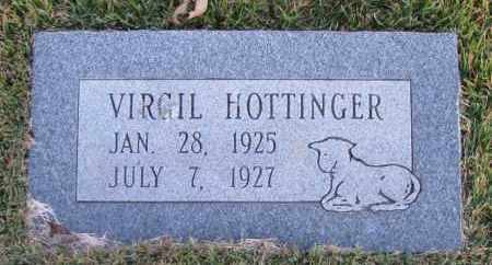 HOTTINGER, VIRGIL - Pope County, Arkansas | VIRGIL HOTTINGER - Arkansas Gravestone Photos