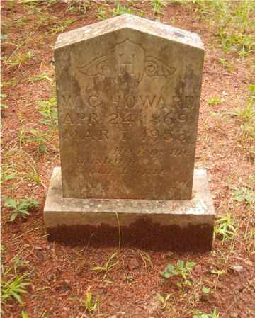 HOWARD, WILLIAM CHARLIE - Pope County, Arkansas | WILLIAM CHARLIE HOWARD - Arkansas Gravestone Photos