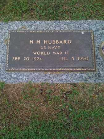 HUBBARD (VETERAN WWII), HENRY HARRISON - Pope County, Arkansas | HENRY HARRISON HUBBARD (VETERAN WWII) - Arkansas Gravestone Photos